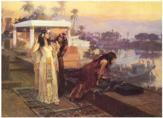 Η Κλεοπάτρα, επονομαζόμενη και «Βασίλισσα των Βασιλέων», από τον Frederick Arthur Bridgman (1896).