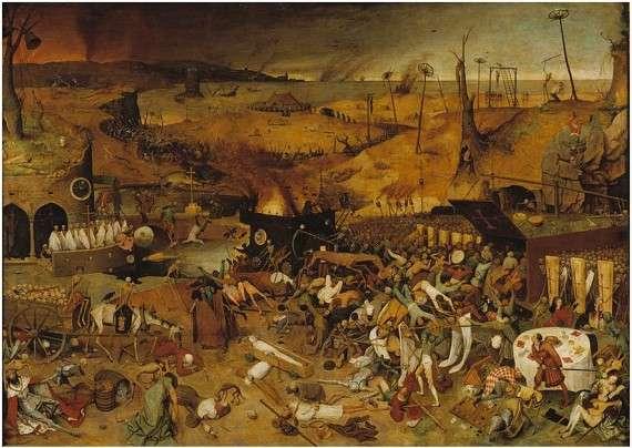 Pieter Bruegel's, The Triumph of Death (1562)