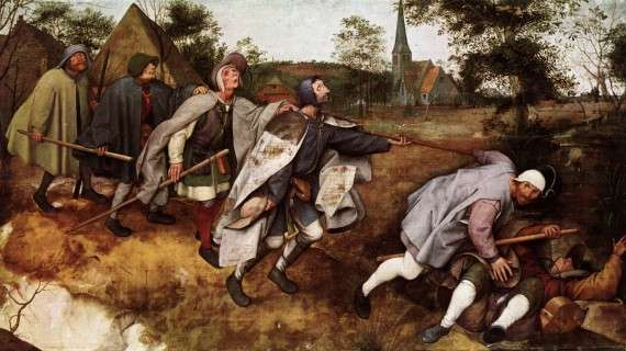 Parable of the Blind, Pieter Bruegel the Elder