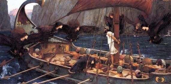 Ο Οδυσσέας και οι Σειρήνες