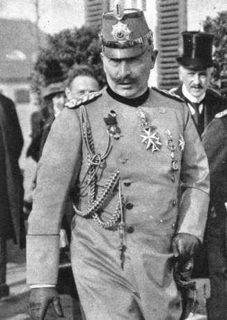 Ο Kaiser Wilhelm II κράτησε την πιο σκληρή στάση απέναντι στην Ελλάδα.