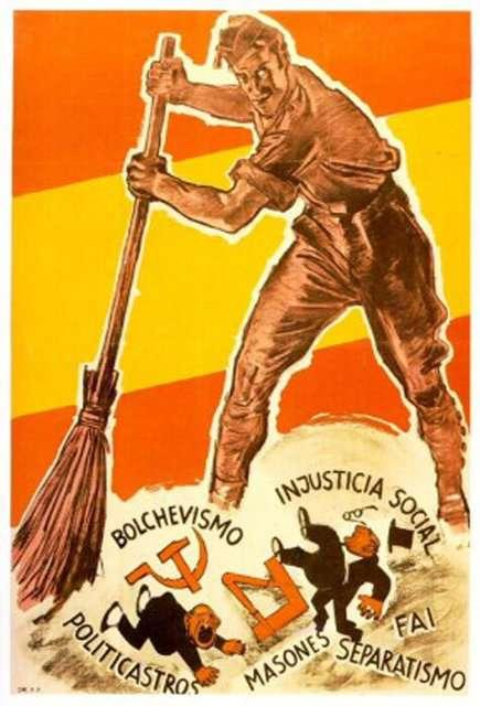 Προπαγανδιστική αφίσα των εθνικιστών