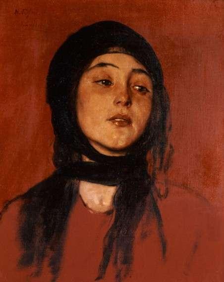 Νικόλαος Γύζης, Γιάντες, 1878, Λάδι σε μουσαμά