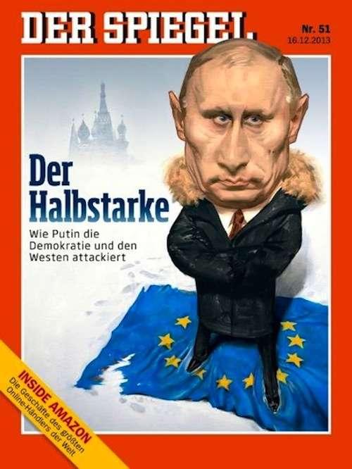 Τον Ρώσο πρόεδρο Vladimir Putin θα μπορούσε κανείς να τον χαρακτηρίσει κυνικό, όχι όμως και ανορθολογικό. Εξώφυλλο στο γερμανικό περιοδικό Der Spiegel