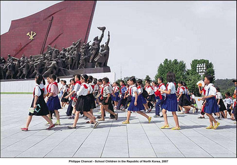 Μαθητές της Λαϊκής Δημοκρατίας της Βόρειας Κορέας.