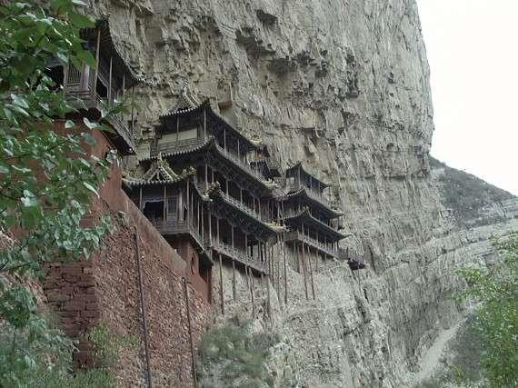 Shanxi μιά πόλη στη Κίνα, χτισμένη στον γκρεμό!