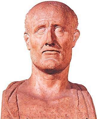 O Αλκιβιάδης Κλεινίου Σκαμβωνίδης (450-404 π.Χ. ) Προτομή, πέμπτος αιώνας π.Χ. Μουσείο στο Καπιτώλιο, Ρώμη).