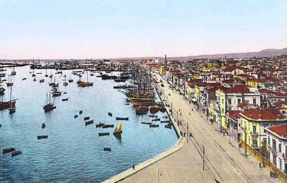 Η παραλία της Θεσσαλονίκης το 1917