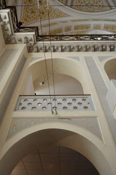 Αστέρια του Δαβίδ στο Γενί Τζαμί.