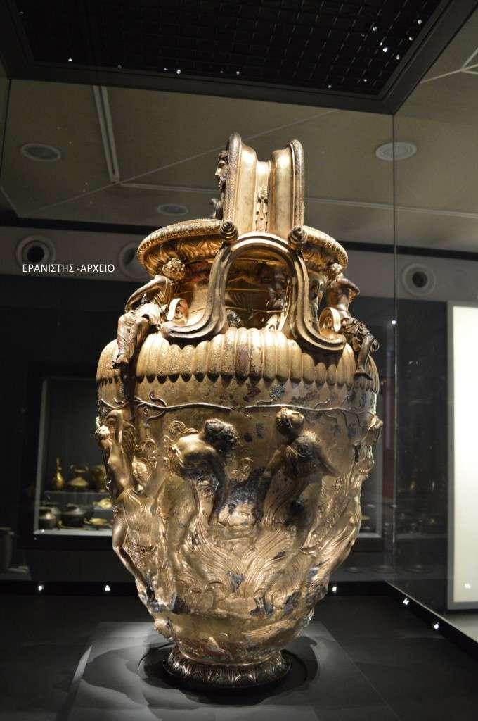 Ο κρατήρας του Δερβενίου - Αρχαιολογικό Μουσείο Θεσσαλονίκης