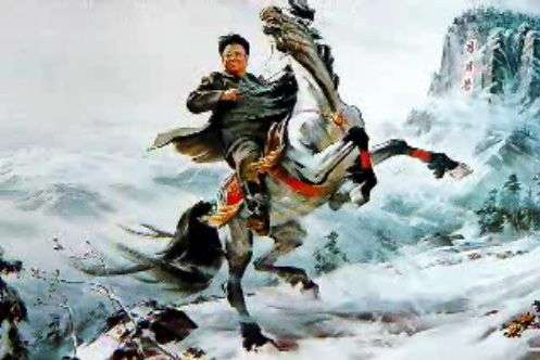 Ο στρατιωτικός ηγέτης Κιμ Γιονγκ Ιλ ενάντια ακόμα και στα στοιχεία της φύσης