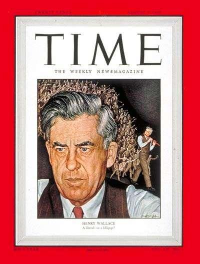 Henry Wallace ο αμερικανός αντιπρόεδρος που επισκέφτηκε το Γκουλάγκ στην Κολίμα. Περιοδικό TIME