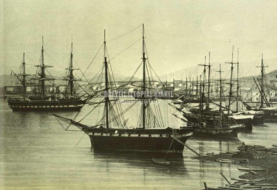 Πειραιάς, περί το 1850