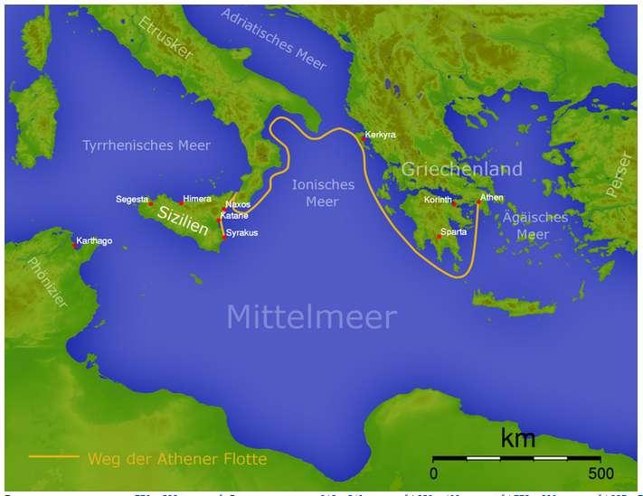 Από την άλλη μεριά, οι Συρακούσιοι ήξεραν πλέον πολύ καλά ότι δεν έπρεπε να αφήσουν τους Αθηναίους να φύγουν κι ότι δεν υπήρχε τίποτε πιο βολικό γι' αυτούς απ' την τελική σύγκρουση μέσα στο ίδιο τους το λιμάνι.