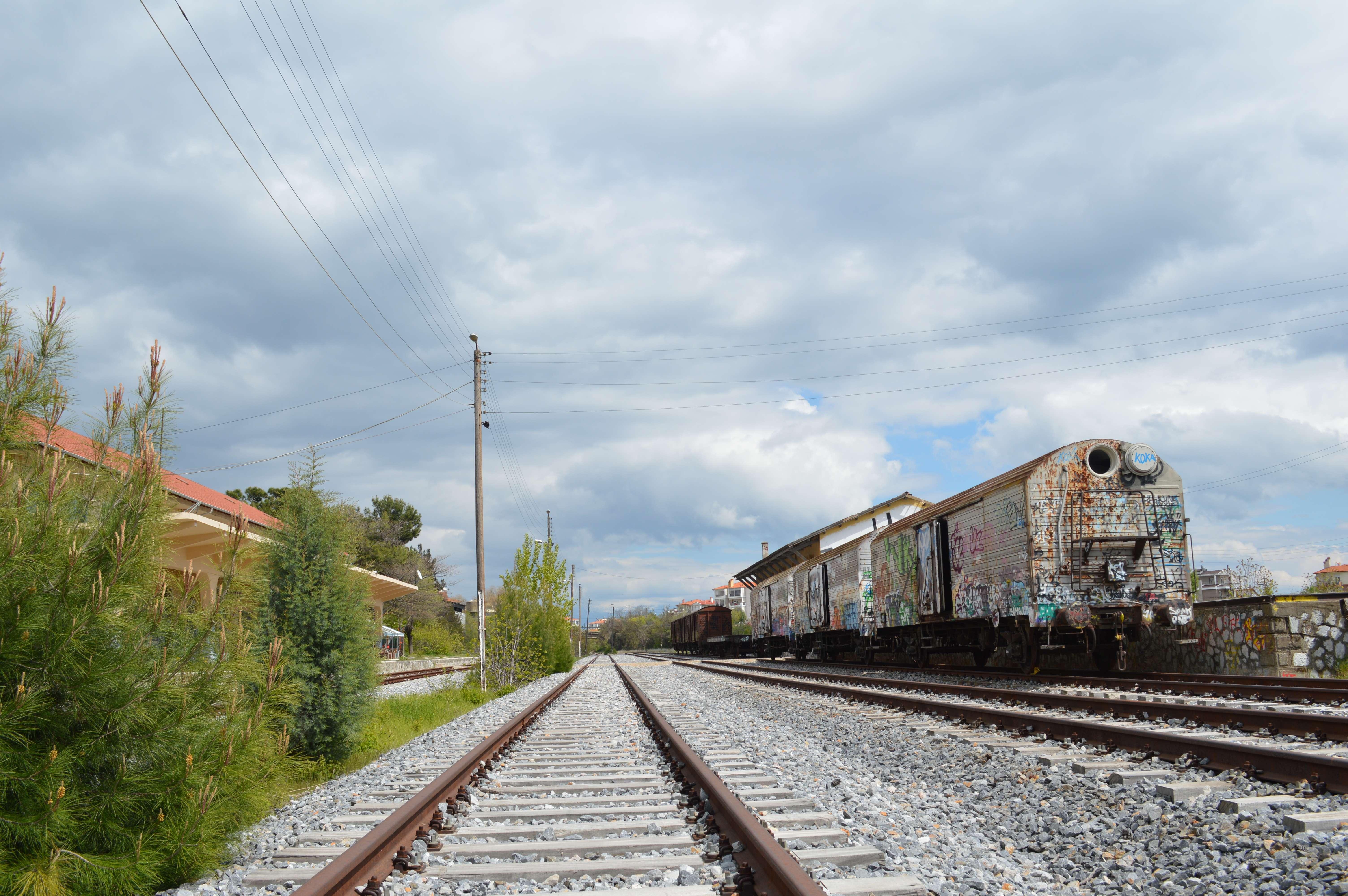 Σιδηροδρομικός Σταθμός Κοζάνης – Φωτογραφίες