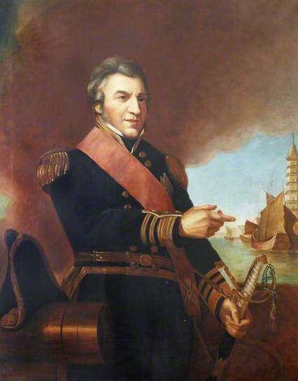 O ναύαρχος σερ Ουίλιαμ-Πάρκερ