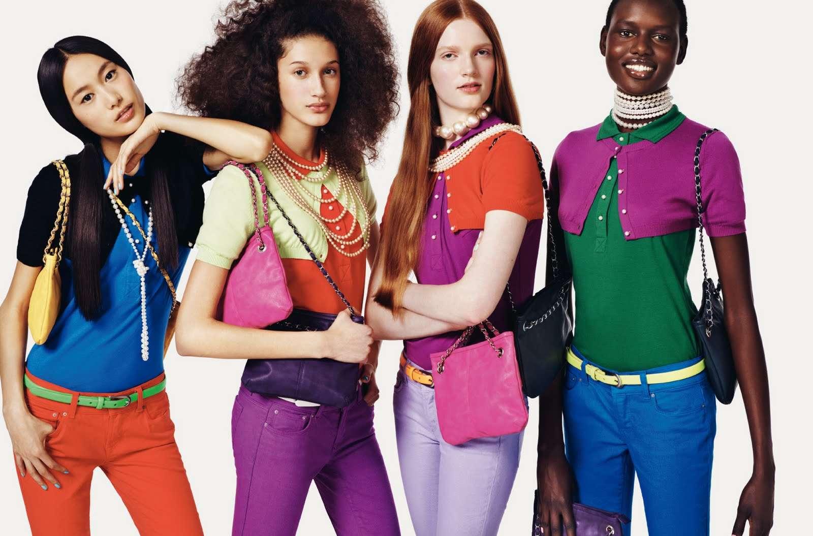 Διαφήμιση της Benetton.