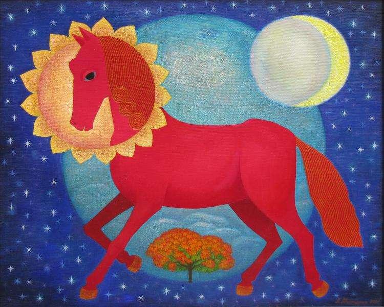 Κόκκινο άλογο