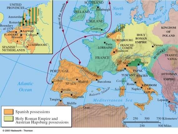 Η Ευρώπη το 1588