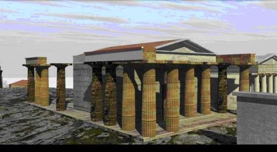 Τρισδιάστατη απεικόνιση της αρχαίας Αθήνας