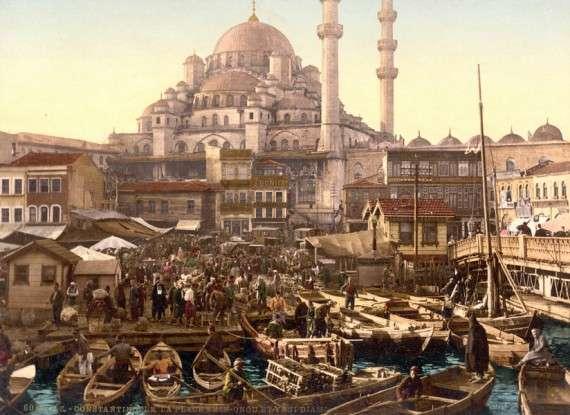 Η Αγία Σοφία στην Κωνσταντινούπολη, 1895.