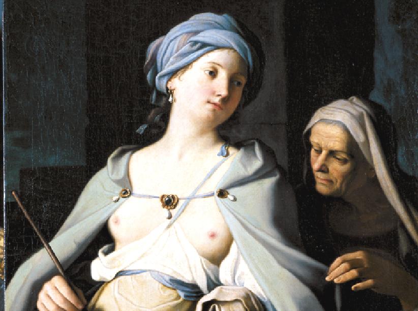 Giovanni Domenico Cerrini. La maga Circe 17 век