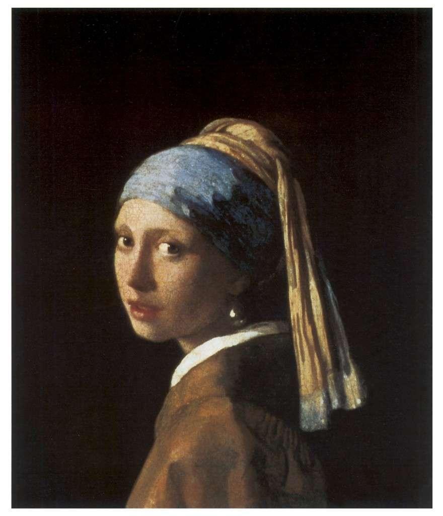 Jan Vermeer, Girl with a Pearl Earring, 1665-66