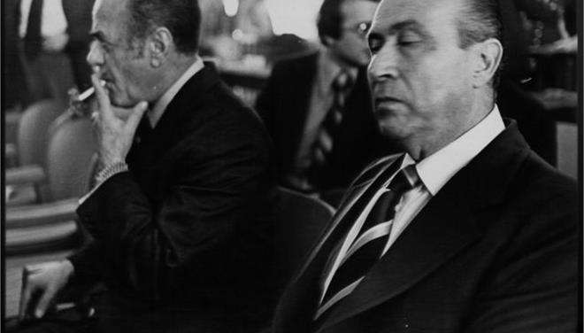 Οι δικτάτορες Ιωαννίδης και Παπαδόπουλος