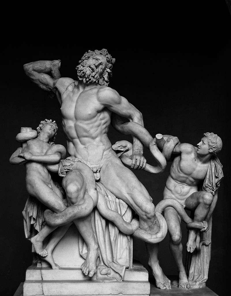 Ο Λαοκόων και οι γιοι του στο Μουσείο του Βατικανού