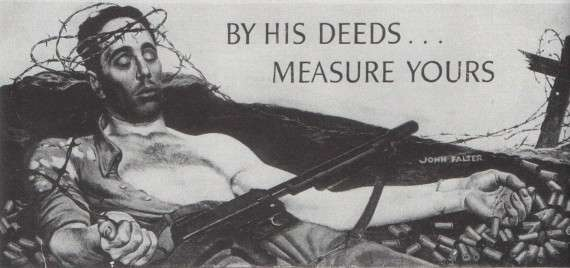 «Οι πράξεις του…μέτρο σύγκρισης για τις δικές σου» - Ο στρατιώτης σαν μεσσιανική φιγούρα