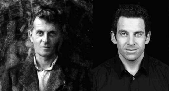 Ludwig Wittgenstein (1889-1951) και Sam Harris (1967- )