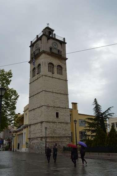 Το καμπαναριό της Κοζάνης, στην κεντρική πλατεία Ελευθερίας