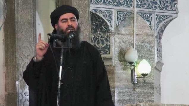 Ο Αμπού Μπακρ αλ-Μπαγκντάντι