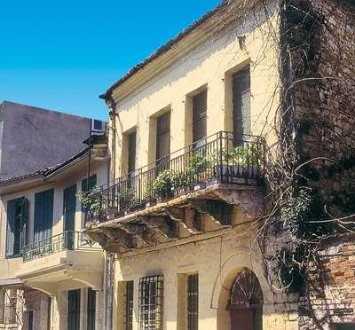 Σπίτι στην οδό Γιωσέφ Ελιγιά στο οποίο έμεινε για 3 χρόνια ο ποιητής