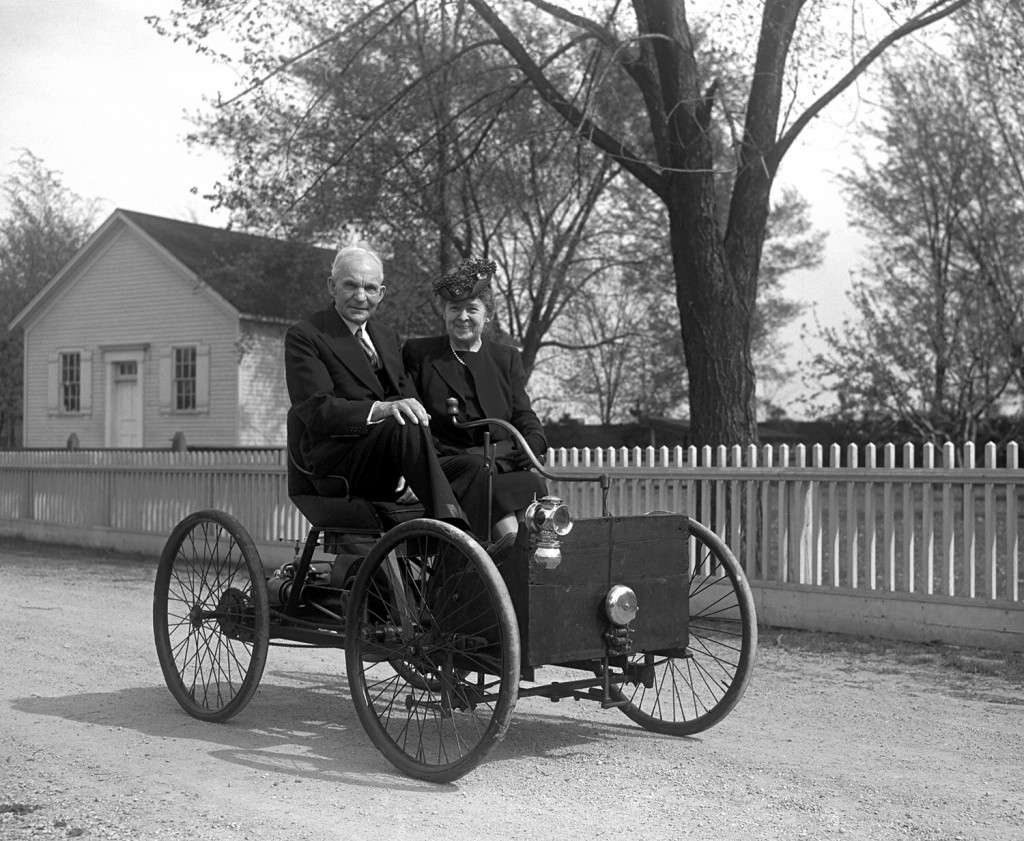 Henry and Clara Bryant Ford in 1946