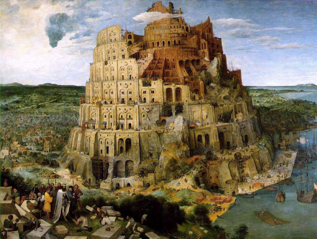 Pieter Bruegel the Elder, Tower of Babel, c. 1563, Kunsthistorisches Museum, Vienna