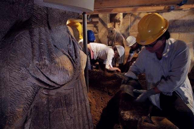 Ανασκαφικές εργασίες στον τύμβο Καστά Αμφίπολης