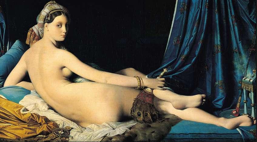 La Grande Odalisque, Jean Auguste Dominique Ingres, 1814, Λούβρο