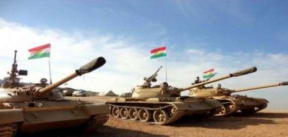Κουρδικά άρματα μάχης.