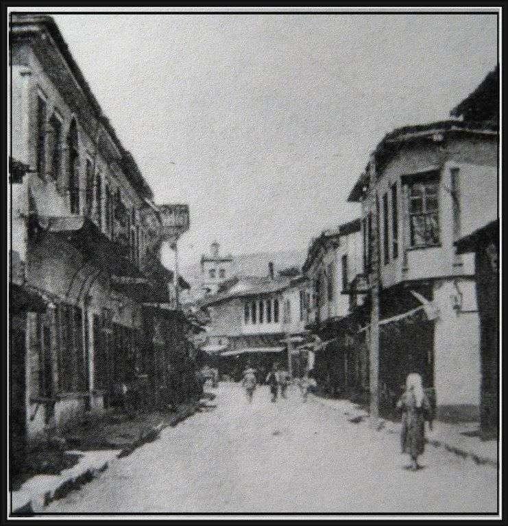 Η παλιά Κοζάνη, περίπου στις αρχές του 20ου αιώνα