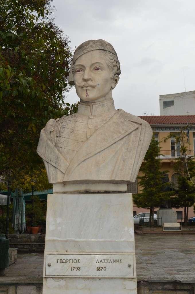 Ο Γεώργιος Λασσάνης (1793 - 1870) ήταν λόγιος και πολιτικός από την Κοζάνη. Ο Γ. Λασσάνης ανέπτυξε δραστηριότητα ως συγγραφέας, δραματουργός, δάσκαλος ενώ παράλληλα συμμετείχε στην επανάσταση του 1821.