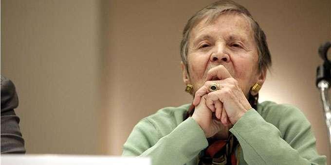 Η ακαδημαϊκός Ελένη Γλύκατζη Αρβελέρ