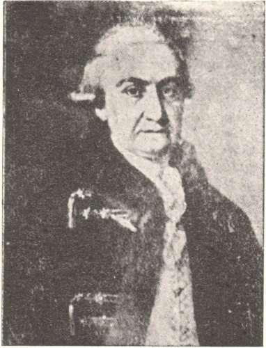 George I. Karayannis (1743-1813). (Ant. Sigalas, Νέα πηγὴ ἀϕορῶσα τὴν οἰκογένειαν Καραγιάννη, «Ἡμερολόγιον Δυτ. Μακεδονίας» 1932, opposite p. 170)