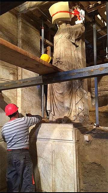 Αρχαιολογική έρευνα στο ταφικό συγκρότημα λόφου Καστά Αμφίπολης