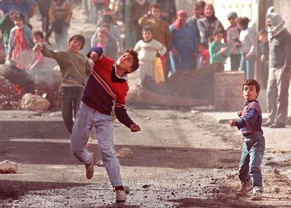 Πρώτη Ιντιφάντα, 1989 (ERIC FEFERBERG/AFP/Getty Images)