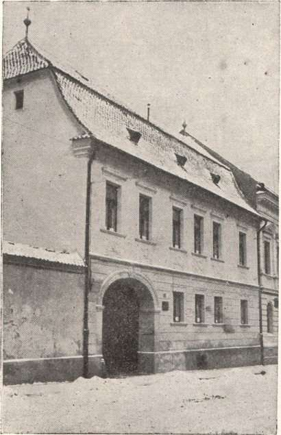 The Greek School at Braşov.