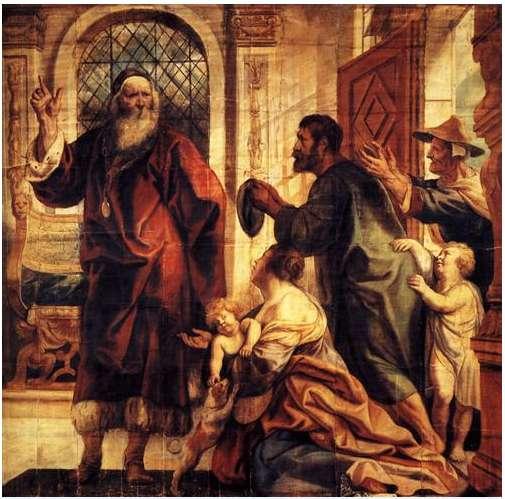 Usury is a great evil, 1645, Jacob Jordaens, Musée du Louvre, Paris, France