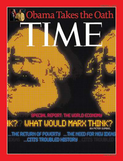 Ο Καρλ Μαρξ σ΄εξώφυλλο του περιοδικού TIME