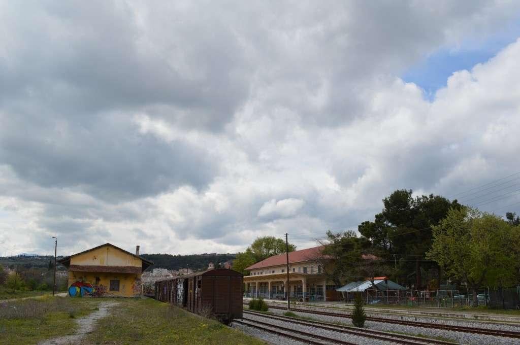 Κοζάνη, ο σιδηροδρομικός σταθμός