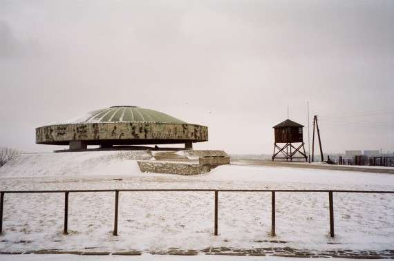 Ο θόλος φιλοξενεί στάχτες μερικών από τα καμένα πτώματα κρατουμένων – Majdanek, Poland